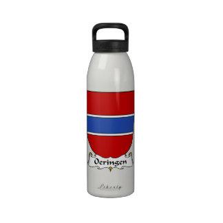 Escudo de la familia de Oeringen Botella De Agua