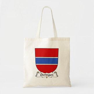 Escudo de la familia de Oeringen Bolsas De Mano