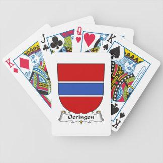 Escudo de la familia de Oeringen Cartas De Juego