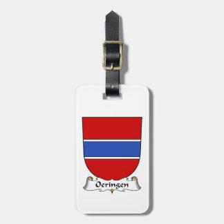 Escudo de la familia de Oeringen Etiquetas Bolsa