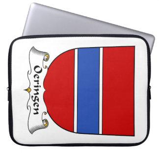 Escudo de la familia de Oeringen Mangas Portátiles