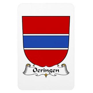 Escudo de la familia de Oeringen Iman Rectangular