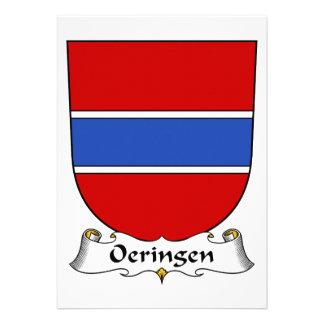 Escudo de la familia de Oeringen Invitacion Personalizada