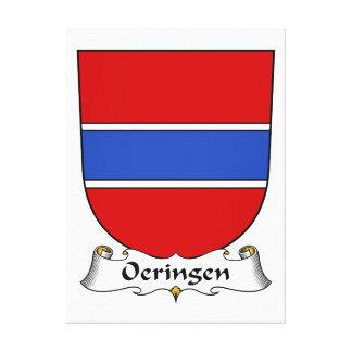 Escudo de la familia de Oeringen Impresion De Lienzo