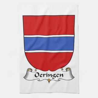 Escudo de la familia de Oeringen Toalla