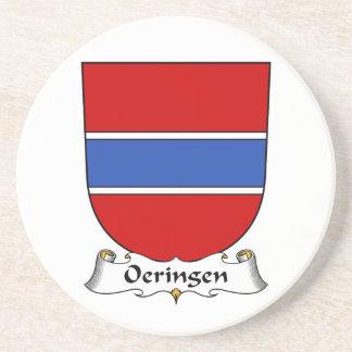 Escudo de la familia de Oeringen Posavasos Cerveza
