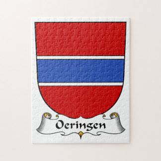 Escudo de la familia de Oeringen Puzzles Con Fotos