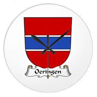 Escudo de la familia de Oeringen Relojes