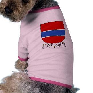 Escudo de la familia de Oeringen Camisetas De Perro