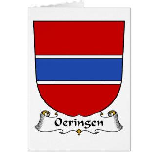 Escudo de la familia de Oeringen Tarjeton