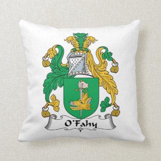 Escudo de la familia de O'Fahy Cojin