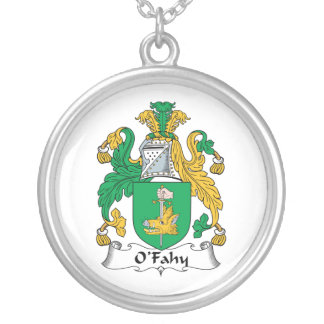 Escudo de la familia de O'Fahy Colgantes