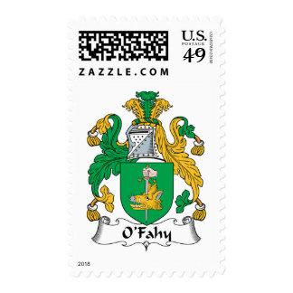 Escudo de la familia de O'Fahy Franqueo