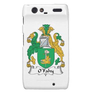 Escudo de la familia de O'Fahy Motorola Droid RAZR Carcasa