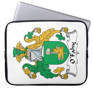 Escudo de la familia de O'Fahy Funda Computadora