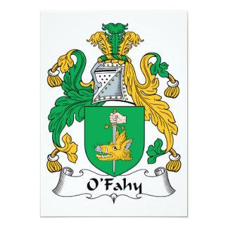 Escudo de la familia de O'Fahy Anuncios Personalizados