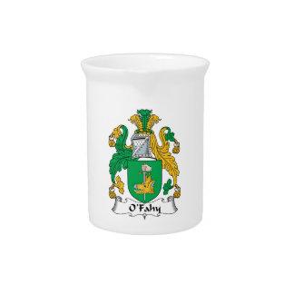 Escudo de la familia de O'Fahy Jarras De Beber