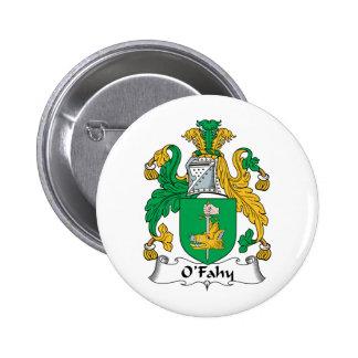 Escudo de la familia de O'Fahy Pins