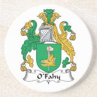 Escudo de la familia de O'Fahy Posavasos Diseño