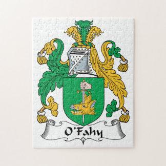 Escudo de la familia de O'Fahy Puzzles Con Fotos