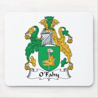 Escudo de la familia de O'Fahy Alfombrillas De Ratones