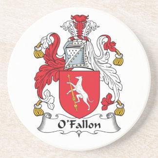 Escudo de la familia de O'Fallon Posavasos Diseño