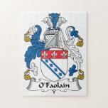 Escudo de la familia de O'Faolain Rompecabezas Con Fotos