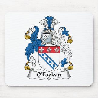 Escudo de la familia de O'Faolain Tapete De Raton