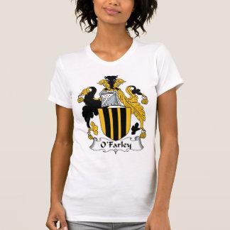 Escudo de la familia de O'Farley Camiseta