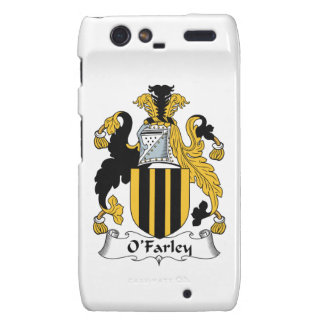 Escudo de la familia de O'Farley Droid RAZR Funda