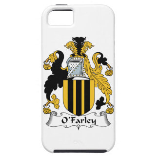 Escudo de la familia de O'Farley iPhone 5 Case-Mate Cobertura