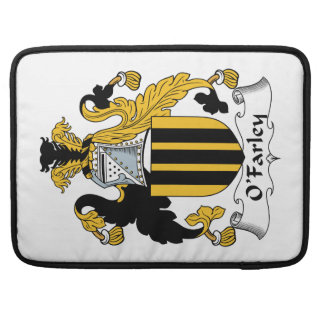 Escudo de la familia de O'Farley Fundas Macbook Pro