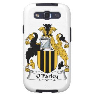 Escudo de la familia de O'Farley Galaxy SIII Funda
