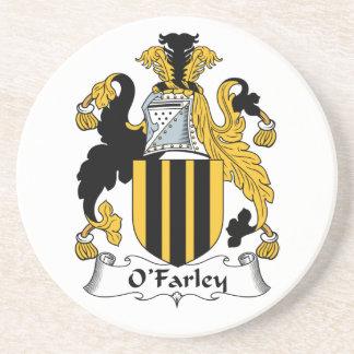 Escudo de la familia de O'Farley Posavasos Manualidades