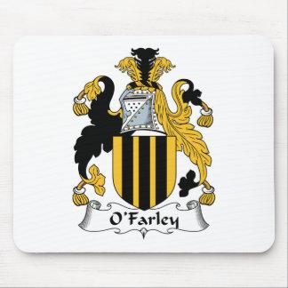Escudo de la familia de O'Farley Tapetes De Ratón