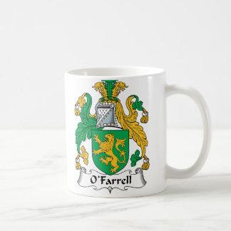 Escudo de la familia de O'Farrell Taza