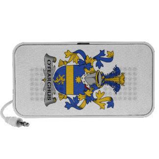 Escudo de la familia de O'Fearghus Altavoces De Viaje