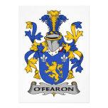 Escudo de la familia de O'Fearon Comunicado Personal