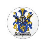 Escudo de la familia de O'Fearon Relojes