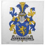 Escudo de la familia de O'Fearon Servilletas De Papel