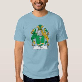 Escudo de la familia de O'Fee Playera