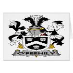 Escudo de la familia de O'Feehily Felicitaciones