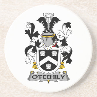 Escudo de la familia de O'Feehily Posavasos Manualidades