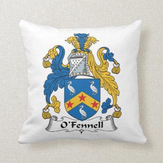 Escudo de la familia de O'Fennell Almohada