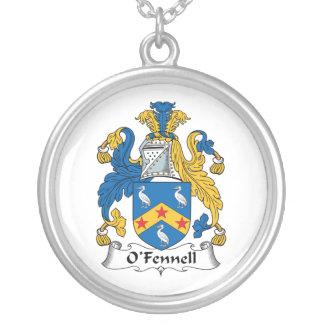 Escudo de la familia de O'Fennell Colgante Redondo