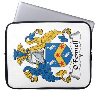 Escudo de la familia de O'Fennell Funda Portátil
