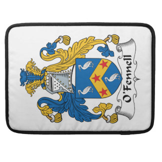 Escudo de la familia de O'Fennell Fundas Para Macbook Pro