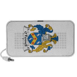 Escudo de la familia de O'Fennell iPod Altavoces