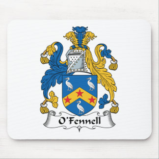 Escudo de la familia de O'Fennell Mouse Pad