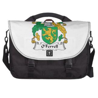Escudo de la familia de O'Ferrell Bolsas De Portátil